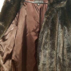 Jackets & Blazers - Faux mink coat